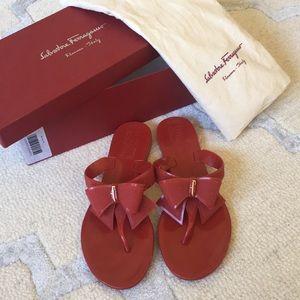 Salvatore Ferragamo Shoes - Ferragamo Jelly Flip Flop